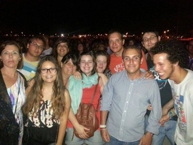 CONCIERTO MELENDI- GRUPO JÓVENES 6/7/2013