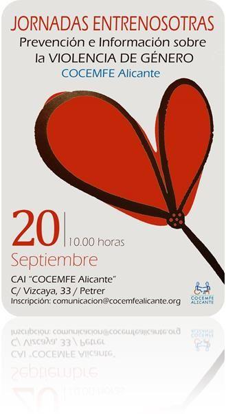 JORNADA «ENTRENOSOTRAS» COCEMFE ALICANTE . 20 SEPTIEMBRE 2014