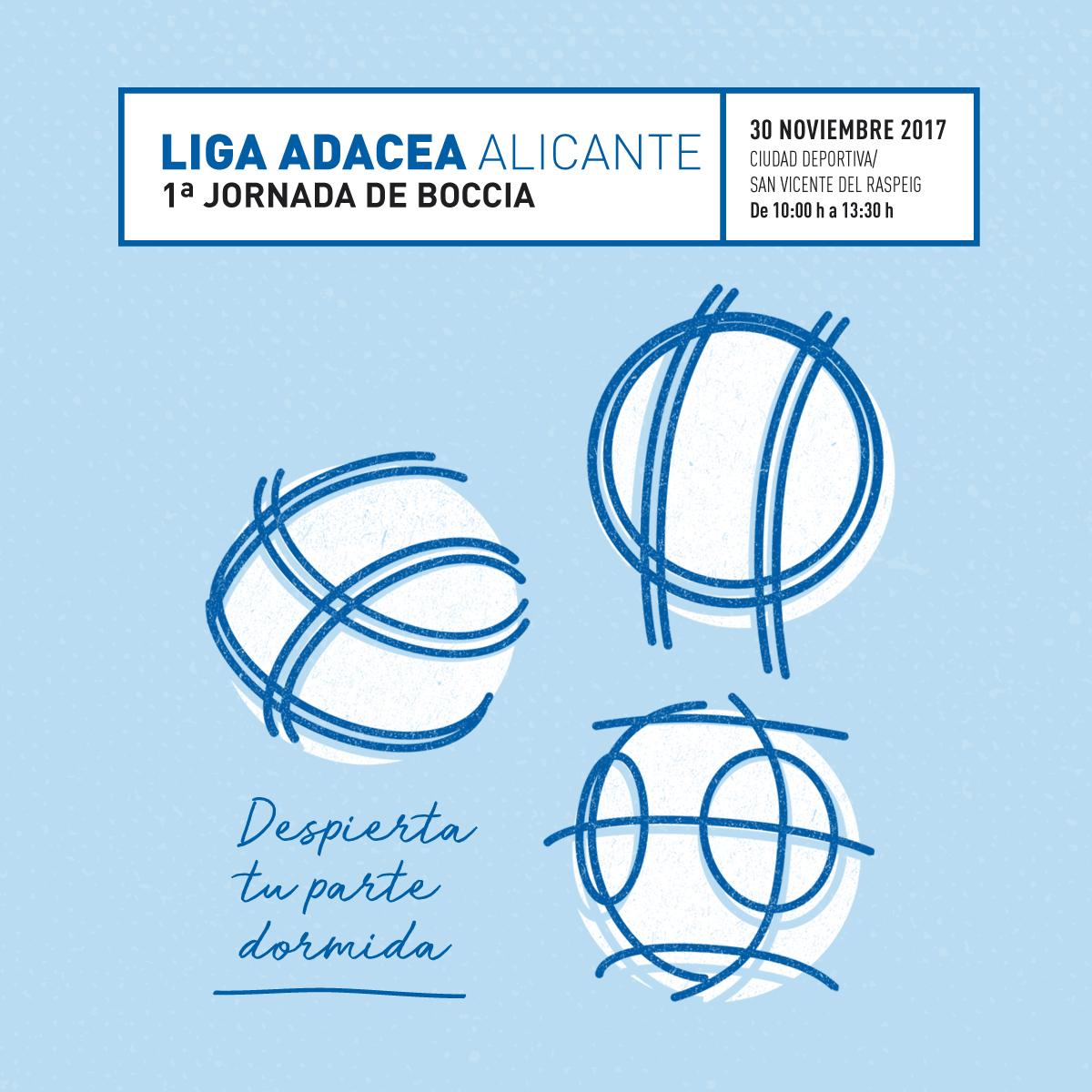 1ª JORNADA DE BOCCIA DE LA LIGA ADACEA ALICANTE
