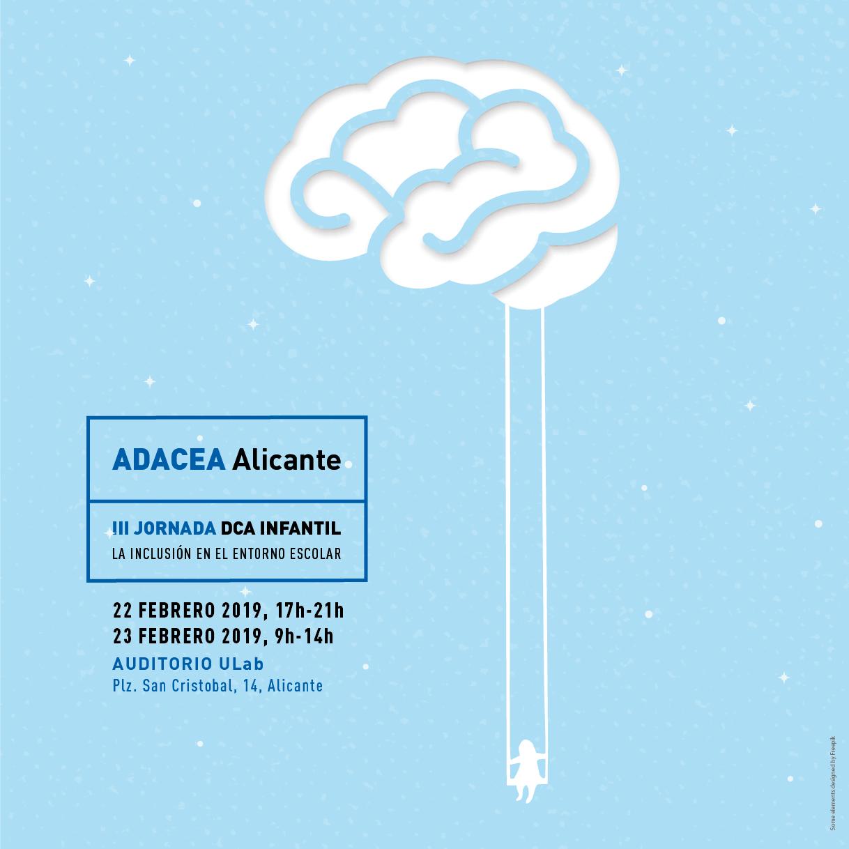 III Jornada de Daño Cerebral Adquirido Infantil de ADACEA Alicante
