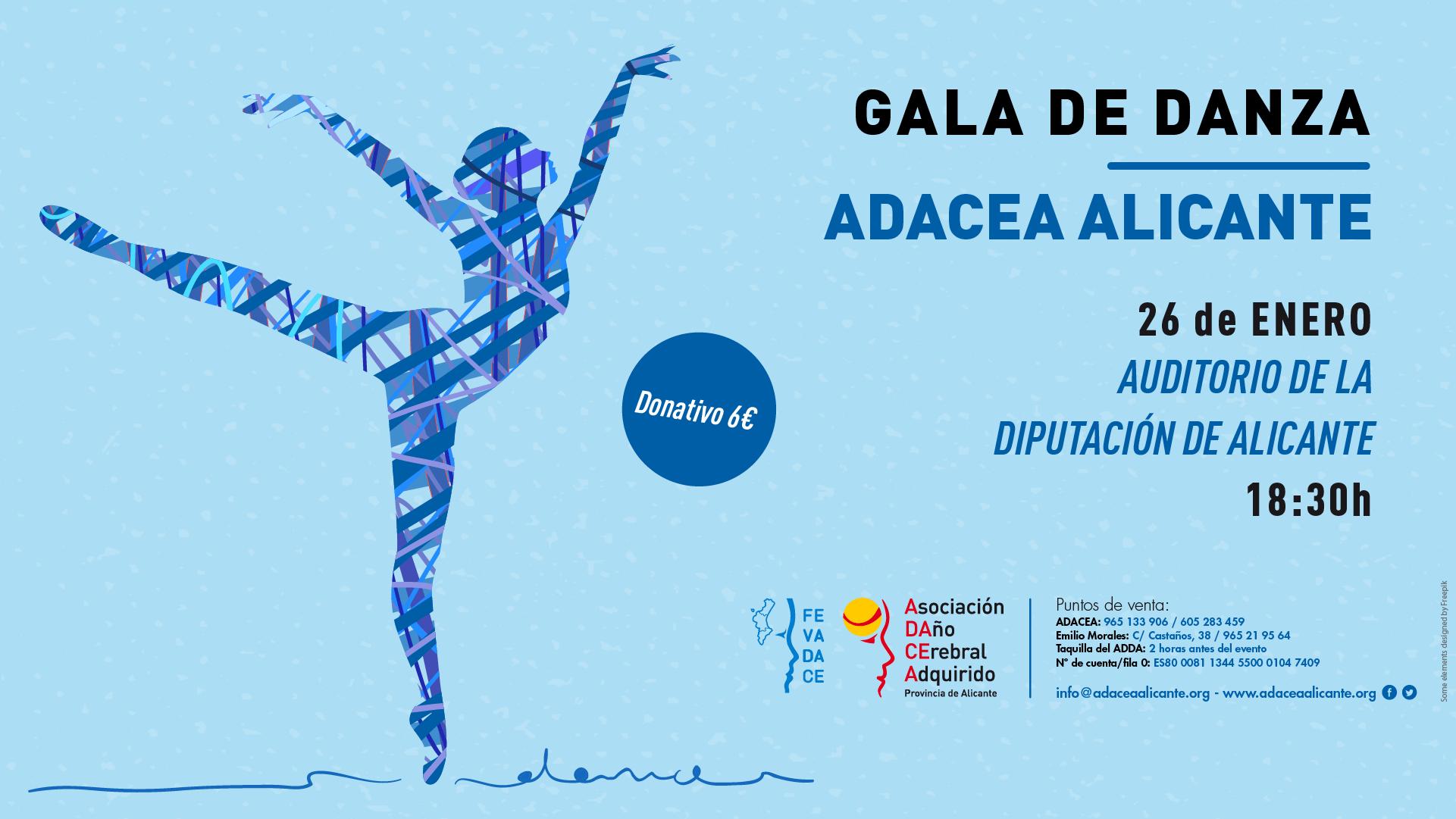 Gala de Danza Solidaria de ADACEA Alicante