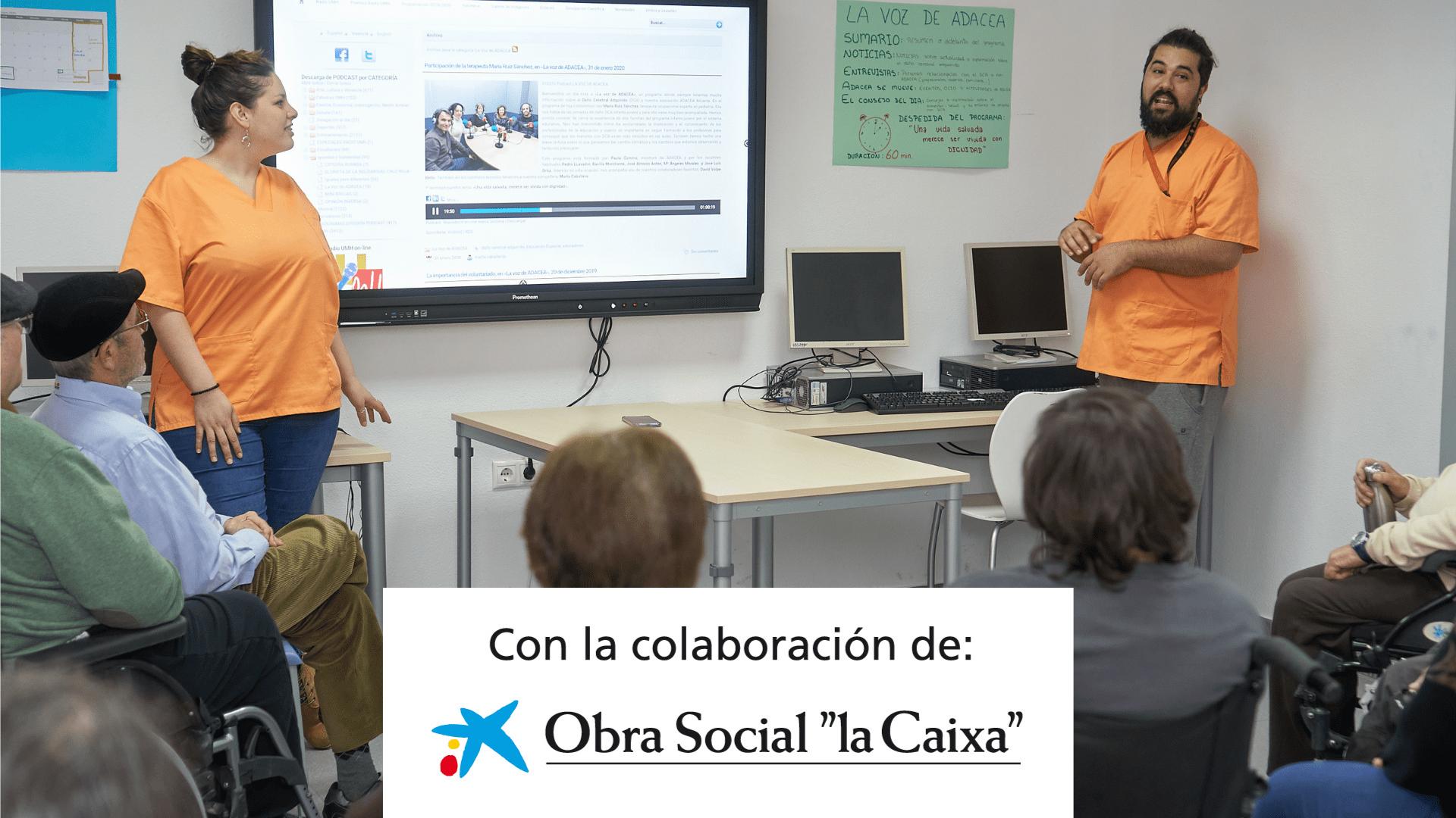 La Caixa Colabora con ADACEA Alicante