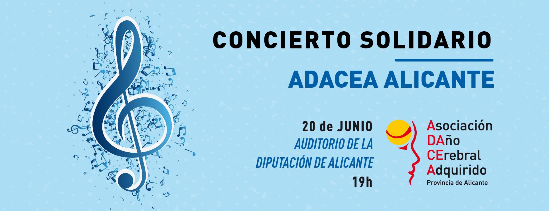 Programa del concierto Solidaria de L'Aliança