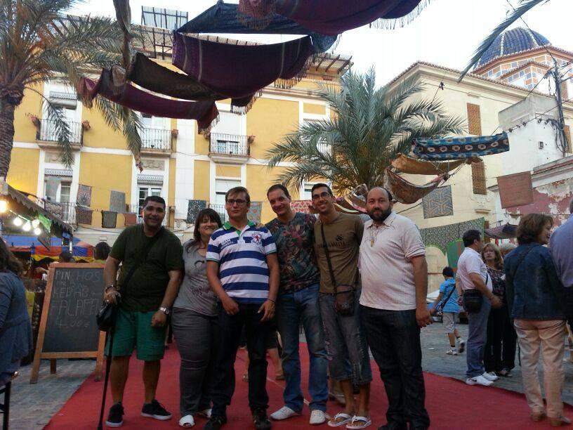 Mercado Medieval en el casco antiguo de Alicante – Junio 2014