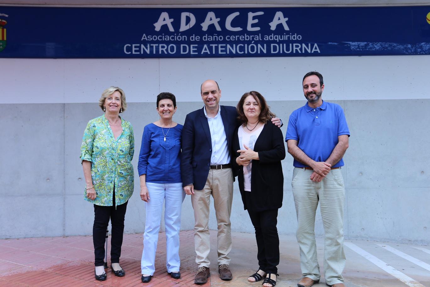 VISITA ALCALDE ALICANTE A ADACEA