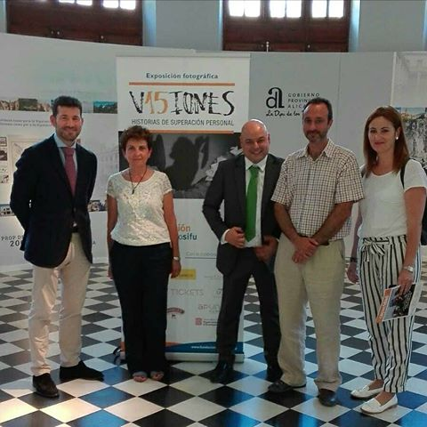 Inauguración de la exposición V15IONES del Grupo SIFU
