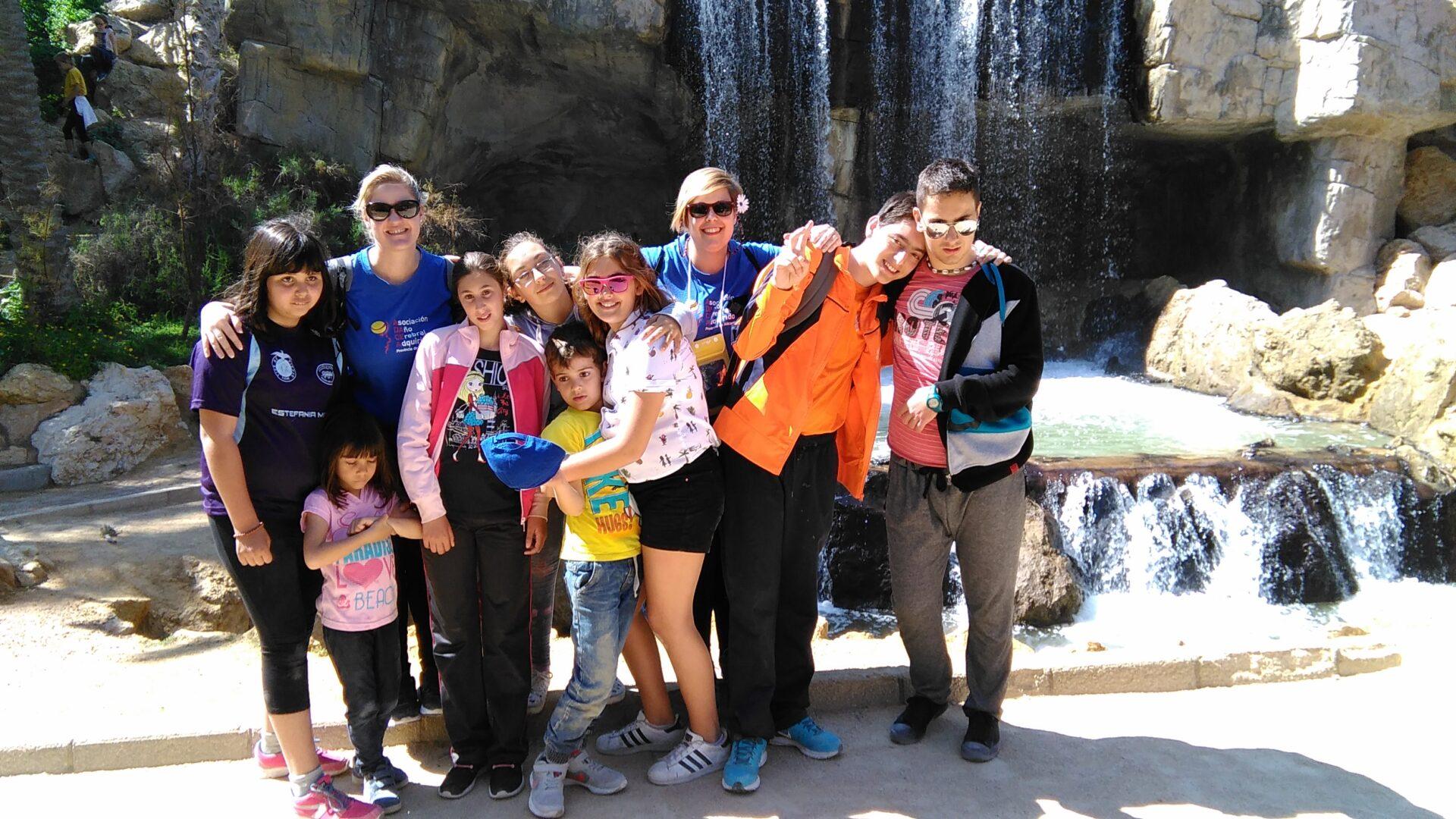 En el Palmeral con el Grupo Scout Aitana
