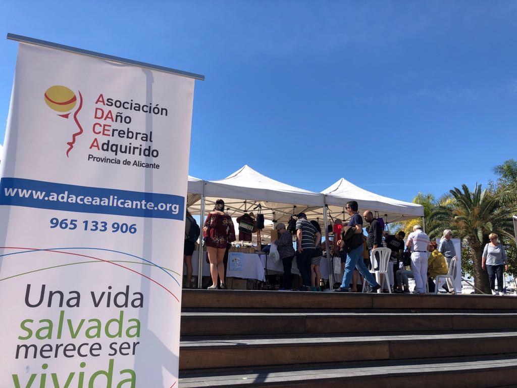 Rastrillo Solidario de ADACEA Alicante mayo 2018