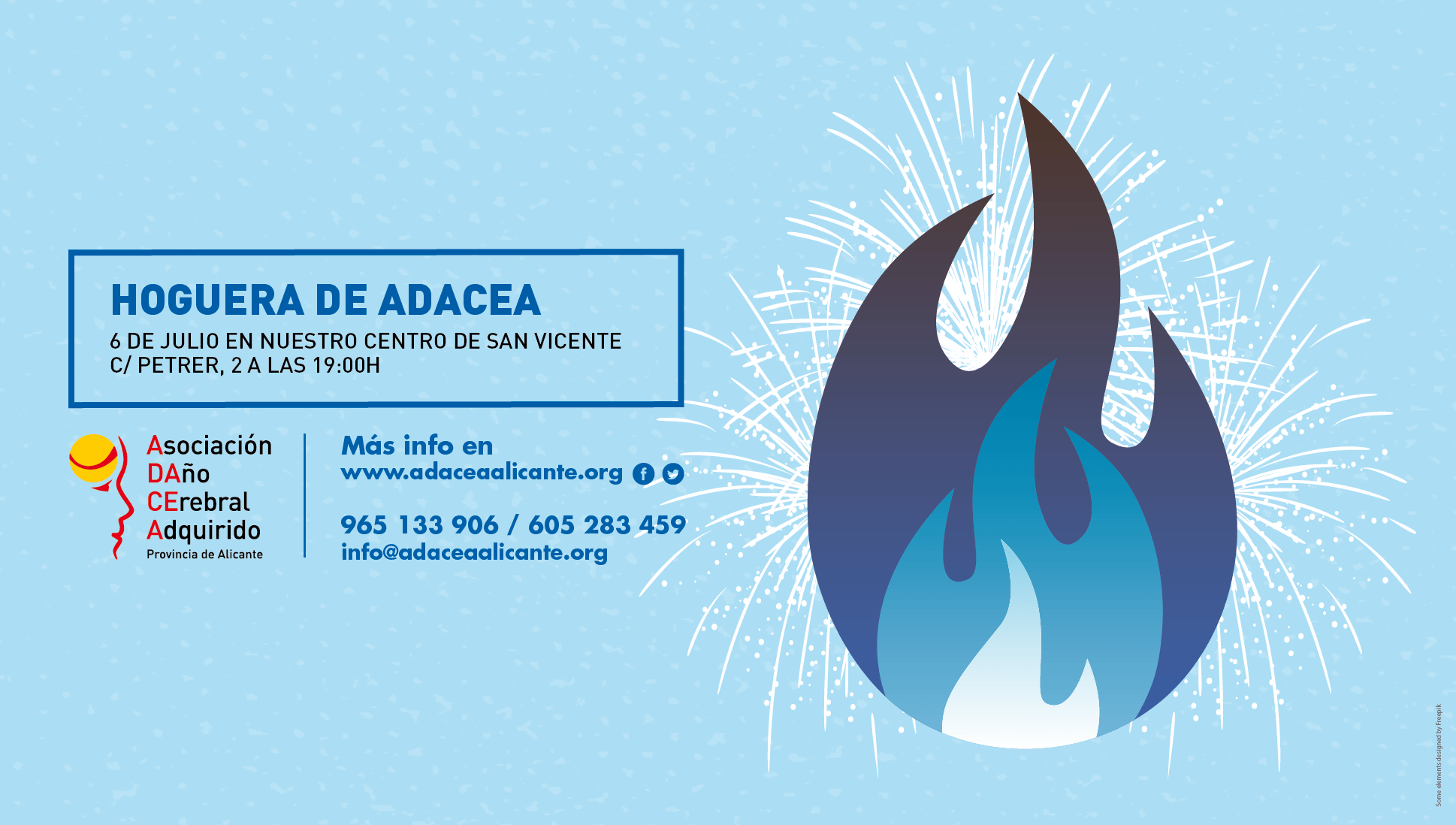 Hoguera de ADACEA Alicante