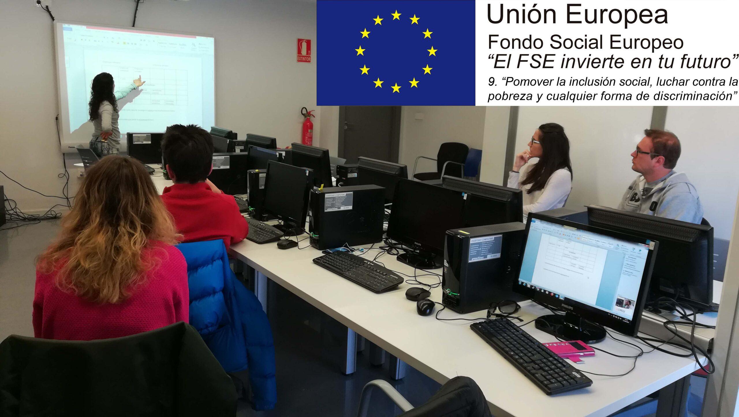 """PROGRAMA """"INLCUI-2"""". EL FONDO SOCIAL EUROPEO INVIERTE EN TU FUTURO"""