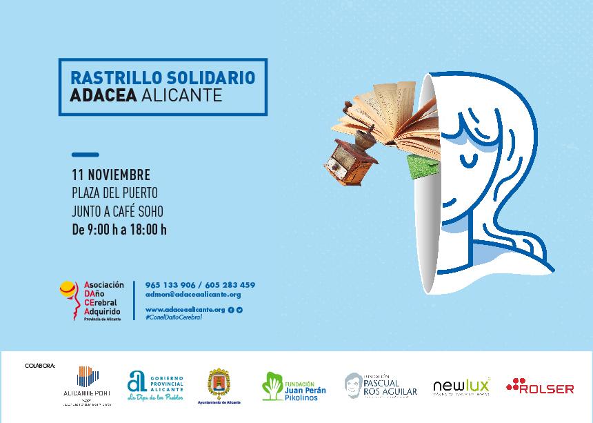 RASTRILLO SOLIDARIO DE ADACEA Alicante, 11 de noviembre