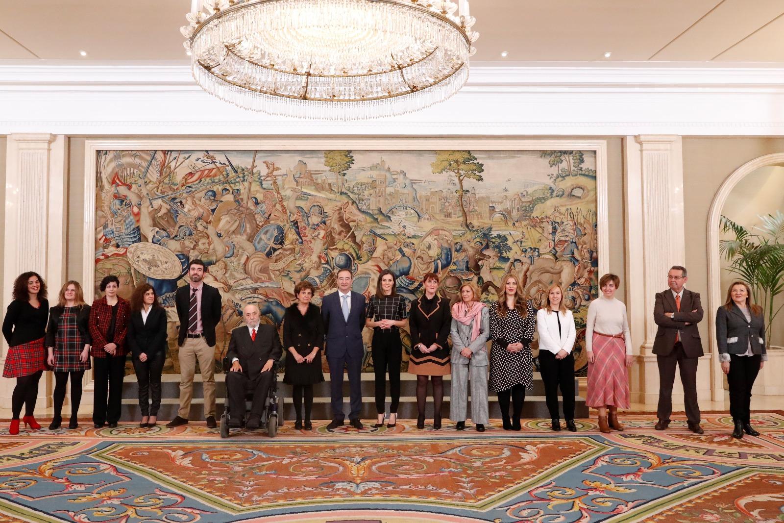 FEDACE y ADACEA Alicante se reunen con S.M. la Reina Doña Letizia