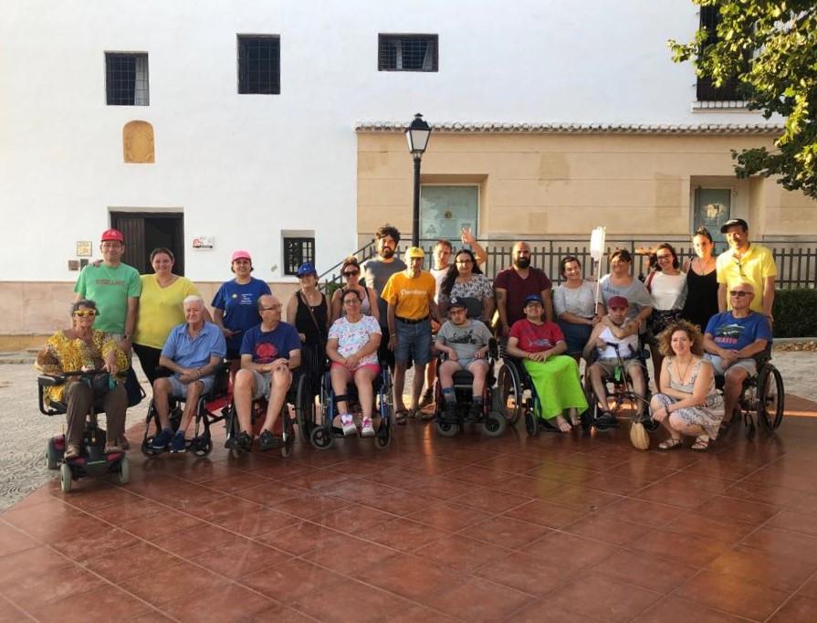ADACEA Alicante disfruta de su salida veraniega