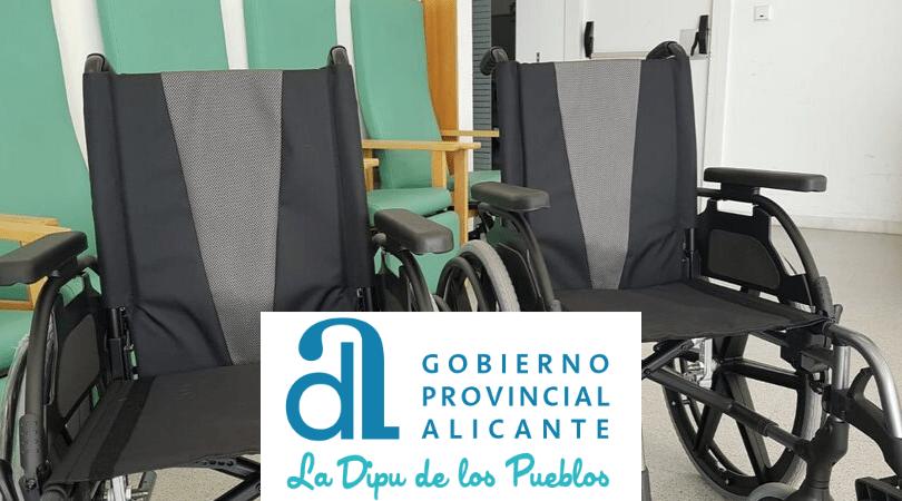 La Diputación de Alicante colabora con nuestro equipamiento
